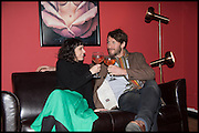 SERENA KUTCHINSKY; FELIX LOWE, Opening of the Trouble Club., Lexington St. Soho London. 6 November 2014