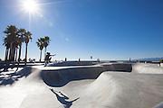 Venice Skatepark in Los Angeles County California