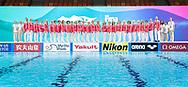 Artistic Swimming Officials<br /> Gwangju South Korea 18/07/2019<br /> Artistic Swimming Officials<br /> 18th FINA World Aquatics Championships<br /> Yeomju Gymnasium <br /> Photo © Giorgio Scala / Deepbluemedia / Insidefoto
