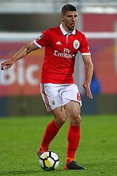 April 21, 2018 - Estoril, Estoril, Portugal - SL Benfcas Defender Ruben Dias from Portugal during the Premier League 2017/18 match between Estoril Praia v SL Benfica, at Estadio Antonio Coimbra da Mota in Estoril on April 21, 2018. (Credit Image: © Dpi/NurPhoto via ZUMA Press)