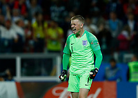 Jordan Pickford (England) celebration during the penalty shootout<br /> Moscow 03-07-2018 Football FIFA World Cup Russia 2018 <br /> Colombia - England / Colombia - Inghilterra<br /> Foto Matteo Ciambelli/Insidefoto