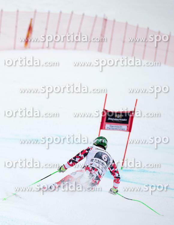 28.02.2015, Kandahar, Garmisch Partenkirchen, GER, FIS Weltcup Ski Alpin, Abfahrt, Herren, im Bild Klaus Kroell (AUT) // Klaus Kroell of Austria in action during the men's Downhill of the FIS Ski Alpine World Cup at the Kandahar course, Garmisch Partenkirchen, Germany on 2015/02/28. EXPA Pictures © 2015, PhotoCredit: EXPA/ Johann Groder