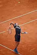Juan Martin DEL POTRO (ARG) won the game against John ISNER (USA) during the Roland Garros French Tennis Open 2018, day 9, on June 4, 2018, at the Roland Garros Stadium in Paris, France - Photo Stephane Allaman / ProSportsImages / DPPI