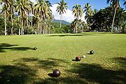 Lawn bowling, Taveuni Estates, Taveuni, Fiji