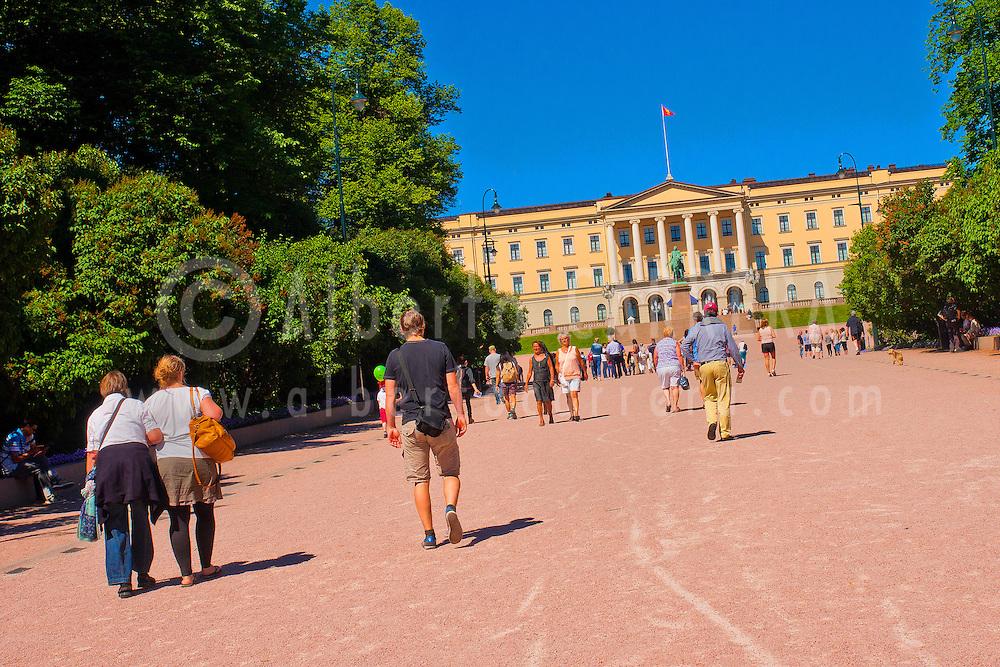 Alberto Carrera, Slottet Royal Palace, Oslo, Norway, Europe