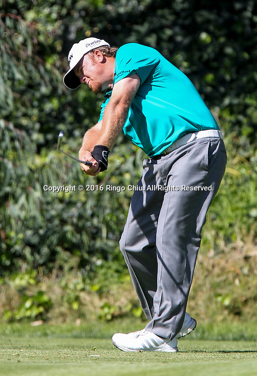 J.B. Holmes plays in the Final Round of the Northern Trust Open at the Riviera Country Club on February 21, 2016, in Los Angeles,(Photo by Ringo Chiu/PHOTOFORMULA.com)<br /> <br /> Usage Notes: This content is intended for editorial use only. For other uses, additional clearances may be required.