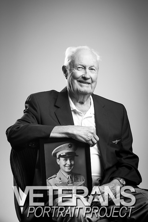 Harry Meisner Steven<br /> Marine Corps<br /> O-3<br /> Aviator<br /> 1942 - 1945<br /> <br /> Veterans Portrait Project<br /> Jacksonville, Florida