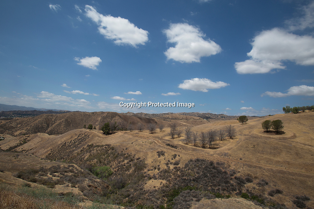 Southern California landscape and the effects of four years drought.