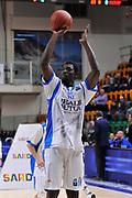 DESCRIZIONE : Eurocup 2014/15 Last32 Dinamo Banco di Sardegna Sassari -  Banvit Bandirma<br /> GIOCATORE : Cheikh Mbodj<br /> CATEGORIA : Tiro Riscaldamento<br /> SQUADRA : Dinamo Banco di Sardegna Sassari<br /> EVENTO : Eurocup 2014/2015<br /> GARA : Dinamo Banco di Sardegna Sassari - Banvit Bandirma<br /> DATA : 11/02/2015<br /> SPORT : Pallacanestro <br /> AUTORE : Agenzia Ciamillo-Castoria / Luigi Canu<br /> Galleria : Eurocup 2014/2015<br /> Fotonotizia : Eurocup 2014/15 Last32 Dinamo Banco di Sardegna Sassari -  Banvit Bandirma<br /> Predefinita :