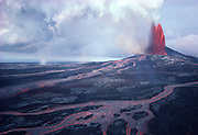 Kilauea Volcano, HVNP, Island of Hawaii<br />