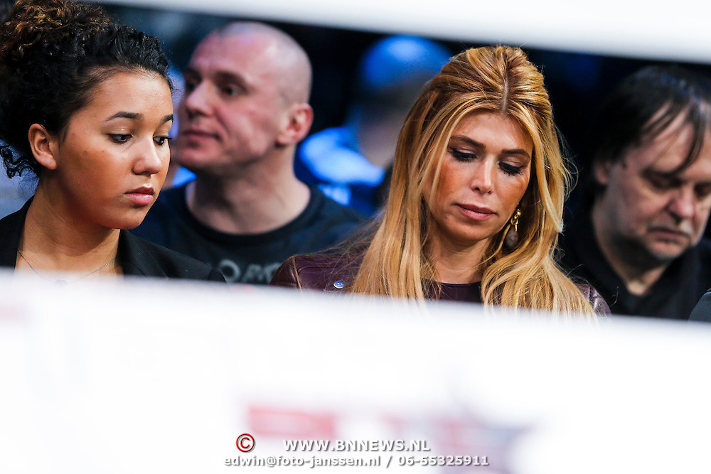 CRO/Zagreb/20130315- K1 WGP Finale Zagreb, dochter Joelle Gullit en Estelle Cruijff