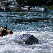 Kayaker on the Ocoee River, Tennessee