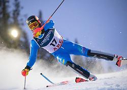 11.02.2019, Aare, SWE, FIS Weltmeisterschaften Ski Alpin, alpine Kombination, Herren, Slalom, im Bild Christof Innerhofer (ITA) // Christof Innerhofer of Italy reacts after the Slalom competition of the men's alpine combination for the FIS Ski World Championships 2019. Aare, Sweden on 2019/02/11. EXPA Pictures © 2019, PhotoCredit: EXPA/ Johann Groder