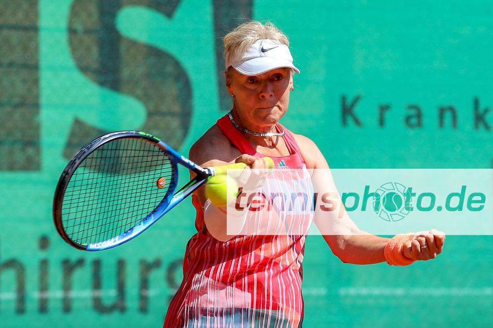 Sylvia Treibmann (TC Weiß-Gelb Lichtenrade), 16. Grün-Weiß Nikolassee Seniorenturnier, Berlin, 21.05.2018, Foto: Claudio Gärtner
