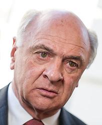 14.03.2014, OeVP Bundespartei, Wien, AUT, OeVP, Vorstandssitzung der OeVP Bundespartei. im Bild Landeshauptmann Niederoesterreich Erwin Proell (OeVP) // Governor of Lower Austria Erwin Proell (OeVP) before board meeting of OeVP at federal party of OeVP in Vienna, Austria on 2014/03/14. EXPA Pictures © 2014, PhotoCredit: EXPA/ Michael Gruber