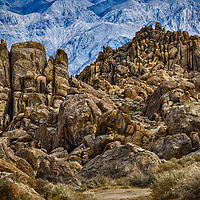 Lone Pine Californa is known for many western movies being shot here.  Desert beautiy for sure!