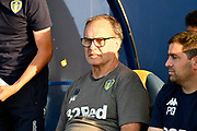 Leeds United manager Marcelo Bielsa during the Pre-Season Friendly match between Oxford United and Leeds United at the Kassam Stadium, Oxford, England on 24 July 2018. Picture by Graham Hunt.