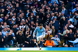 Bernardo Silva of Manchester City celebrates scoring a goal to make it 2-2 - Mandatory by-line: Robbie Stephenson/JMP - 17/04/2019 - FOOTBALL - Etihad Stadium - Manchester, England - Manchester City v Tottenham Hotspur - UEFA Champions League Quarter Final 2nd Leg