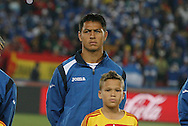 21 JUN 2010: Roger Espinoza (HON). The Spain National Team defeated the Honduras National Team 2-0 at Ellis Park Stadium in Johannesburg, South Africa in a 2010 FIFA World Cup Group H match.