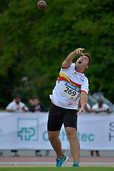 04/08/2017; Moreno Sujar, Salvador, F13, ESP at 2017 World Para Athletics Junior Championships, Nottwil, Switzerland