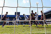 GOAL 4-0 Queens Park Rangers midfielder Massimo Luongo (21) scores during the EFL Sky Bet Championship match between Queens Park Rangers and Swansea City at the Loftus Road Stadium, London, England on 13 April 2019.