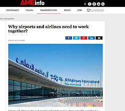 AME info, UAE; Al Maktoum International Airport, Dubai