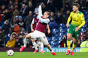 Burnley forward Matěj Vydra (27) during the The FA Cup match between Burnley and Norwich City at Turf Moor, Burnley, England on 25 January 2020.