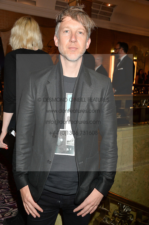JEFFERSON HACK at the WGSN Global Fashion Awards 2015 held at The Park Lane Hotel, Piccadilly, London on 14th May 2015.