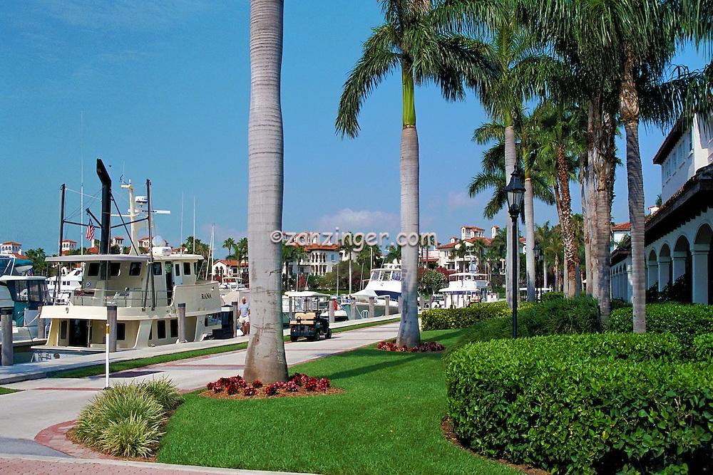 Fisher Island, Miami Florida, 62' Nordhaven Motor Yacht, Rana, FL, Marina, Yachts, luxury condos, lifestyle, rich, famous; Intracoastal Waterway, Miami Florida, USA; Atlantic Coast,