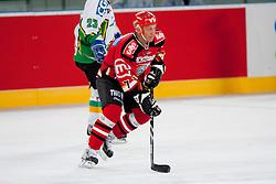 Bine Felc during ice-hockey friendly match between legends of HDD Tilia Olimpija and HK Acroni Jesenice, on April 14, 2012 at SRC Stozice, Ljubljana, Slovenia. (Photo By Matic Klansek Velej / Sportida.com)