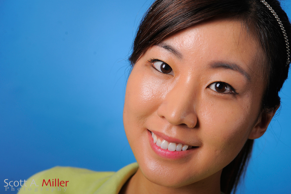 Seira Nakashima during a portrait session prior to the second stage of LPGA Qualifying School at the Plantation Golf and Country Club on Sept. 24, 2011 in Venice, FL...©2011 Scott A. Miller