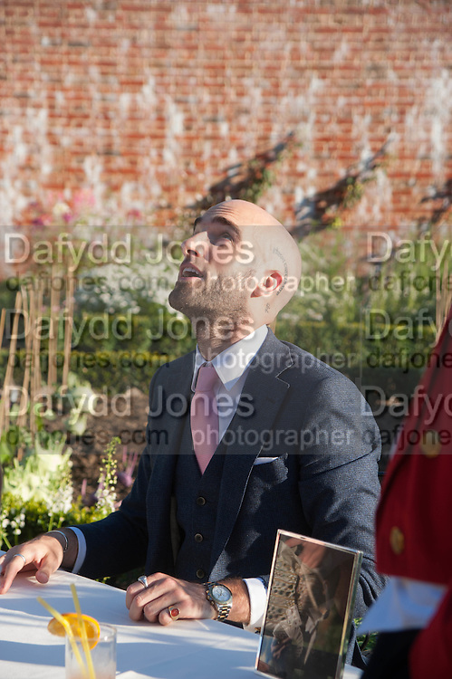 DRUMMOND MONEY-COUTTS;  Richard Taylor's 69th birthday party.  Whithurst Park. West Sussex.  3 August 2013