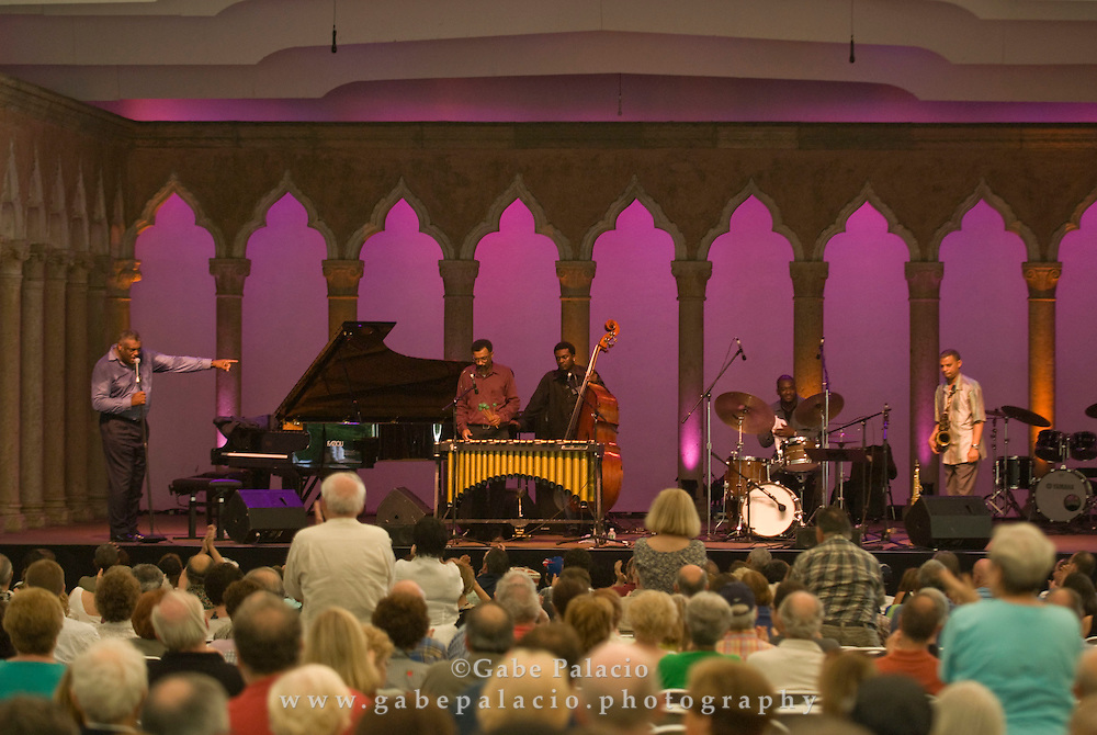 Mulgrew Miller & Wingspan performing in the Jazz Festival II in the Venetian Theater at Caramoor  in Katonah, New York on Friday, Aug 1, 2008.