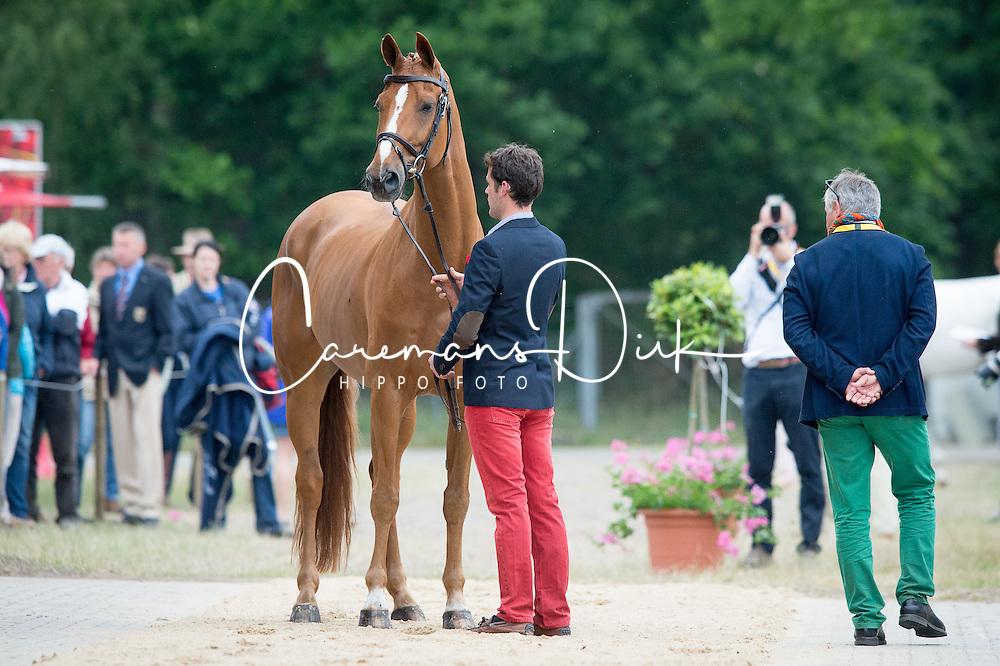 Despontin Julien, (BEL), Waldano 36<br /> CCI 4* Luhmühlen 2015<br /> © Hippo Foto - Jon Stroud<br /> 17/06/15
