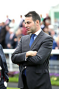 Racehorse Trainer Marco Botti at the York Dante Meeting at York Racecourse, York, United Kingdom on 16 May 2018. Picture by Mick Atkins.