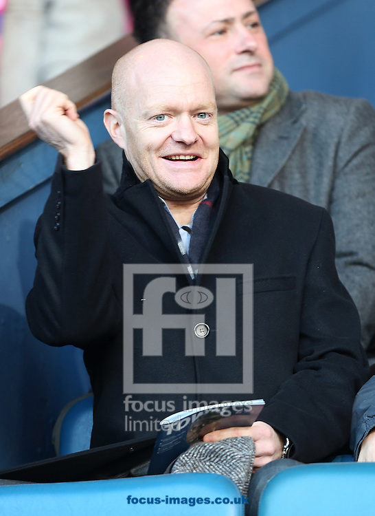 Picture by Richard Calver/Focus Images Ltd +447792 981244<br /> 11/01/2014<br /> Eastenders soap Actor, Jake Wood during the Sky Bet Championship match between Ipswich Town and Queens Park Rangers at Portman Road, Ipswich.