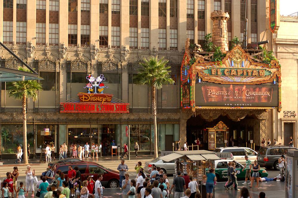 Hollywood Boulevard, Hollywood, Los Angeles, California, United States of America