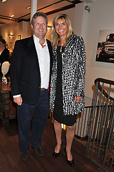WILLIAM & LUCY ASPREY at a party to celebrate the launch of the new Mauritius Collection of jewellery by Forbes Mavros held at Patrick Mavros, 104-106 Fulham Road, London SW3 on 5th July 2011.