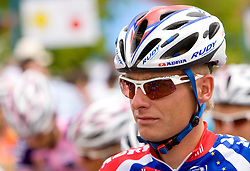 Tomaz Nose at Slovenian National Championships in Road cycling, 178 km, on June 28 2009, in Mirna Pec, Slovenia. (Photo by Vid Ponikvar / Sportida)