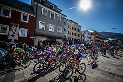 FERREYRA GELDREZ Diego Agustin of Chile during the Men Under 23 Road Race 179.9km Race from Kufstein to Innsbruck 582m at the 91st UCI Road World Championships 2018 / RR / RWC / on September 28, 2018 in Innsbruck, Austria.  Photo by Vid Ponikvar / Sportida