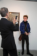 DAVID CROLAND; BERTIE DARRELL, Fashion Show: Robert Mapplethorpe. Alison Jacques Gallery. Berners St. London. 10 September 2013