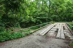 """Long Point Creek and Long Point Creek Bridge (built in 1931) in DeWitt County Illinois near the village of Waynesville.  40°15'50.0""""N 89°01'46.9""""W<br /> <br /> <br /> HDR - High Dynamic Range processing applied"""