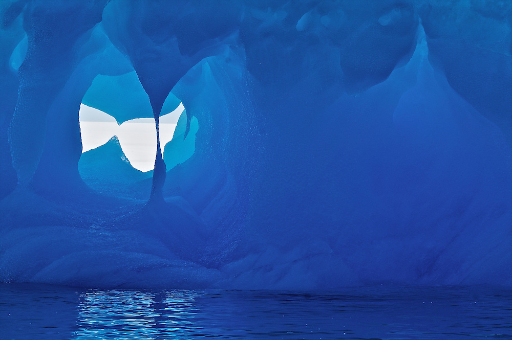 Iceberg on the Antarctic Peninsula.