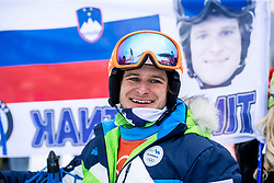 PYEONGCHANG-GUN, SOUTH KOREA - FEBRUARY 24: Tim Mastnak of Slovenia during the Men's Parallel Giant Slalom Elimination Run on day fifteen of the PyeongChang 2018 Winter Olympic Games at Phoenix Snow Park on February 24, 2018 in Pyeongchang-gun, South Korea. Photo by Ronald Hoogendoorn / Sportida