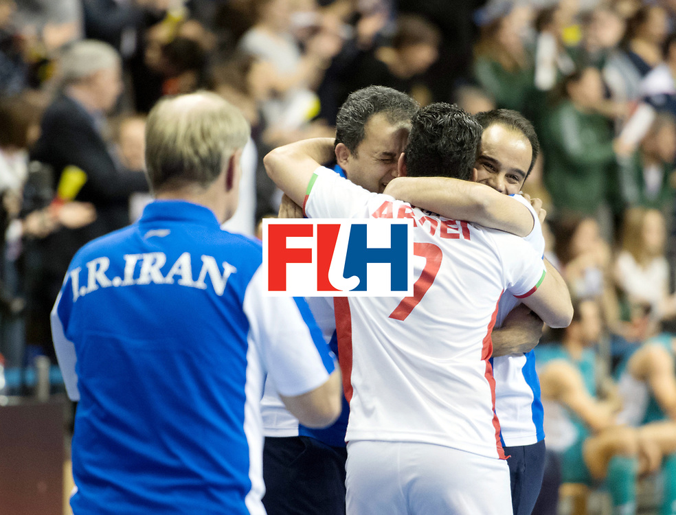 BERLIN - Indoor Hockey World Cup<br /> Bronze: Iran - Australia<br /> foto: <br /> WORLDSPORTPICS COPYRIGHT FRANK UIJLENBROEK