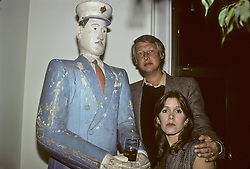 CARRIE FRANCES FISHER (October 21, 1956 - December 27, 2016) the actress best known as Star Wars' Princess Leia Organa, has died after suffering a heart attack. She was 60. Pictured: October 15, 1979 - New York, New York, U.S. - Carrie Fisher & Mike Nichols (Credit Image: © Lynn Goldsmith via ZUMA Press)