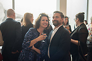 MOLLIE DENT-BROCKLEHURST;  Mollie Dent-Brocklehurst and Mark Davy host an evening in celebration of Future/Pace. London SW6, May 22 2018