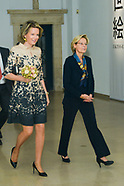 Queen Mathilde Exhibition Estampes Cinquantenaire