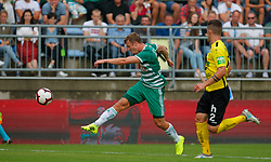 21.07.2019, Sportplatz, Allerheiligen bei Wildon, AUT, OeFB Uniqa Cup, USV Allerheiligen vs SK Rapid Wien, 1. Runde, im Bild Philipp Schobesberger (SK Rapid Wien) und Bostjan Bizjak (SV Allerheiligen) // Philipp Schobesberger (SK Rapid Wien) and Bostjan Bizjak (SV Allerheiligen) during the ÖFB Uniqa Cup, 1st round match between USV Allerheiligen and SK Rapid Wien at the Sportplatz in Allerheiligen bei Wildon, Austria on 2019/07/21. EXPA Pictures © 2019, PhotoCredit: EXPA/ Erwin Scheriau