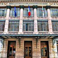 Op&eacute;ra Nice C&ocirc;te d&rsquo;Azur in Nice, France<br /> This location has housed artistic performances since 1776 but this building had two predecessors before being built in 1885.  Since 1902, it&rsquo;s been called Op&eacute;ra Nice C&ocirc;te d&rsquo;Azur.  The opera house is shared with the Nice Philharmonic Orchestra and the Ballet Nice M&eacute;diterrann&eacute;e.